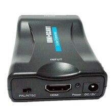 محول موصل Hdmi HDMI إلى سكارت HD محول الفيديو 1080P