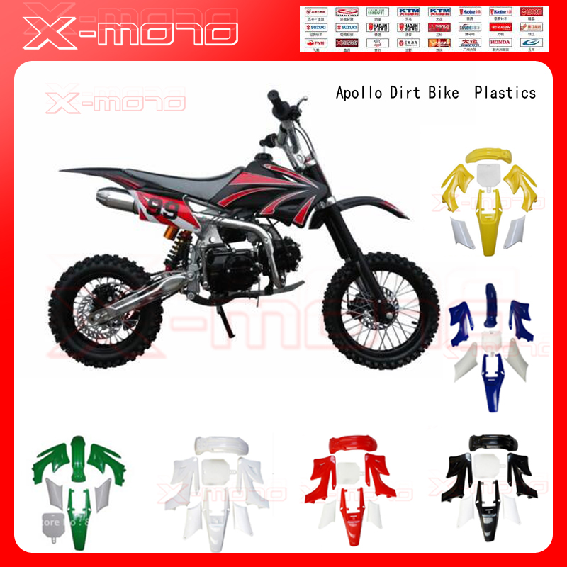 plastic cover apollo fairing kits orion 70cc 110cc 125cc 150cc dirt bike plastics long style. Black Bedroom Furniture Sets. Home Design Ideas