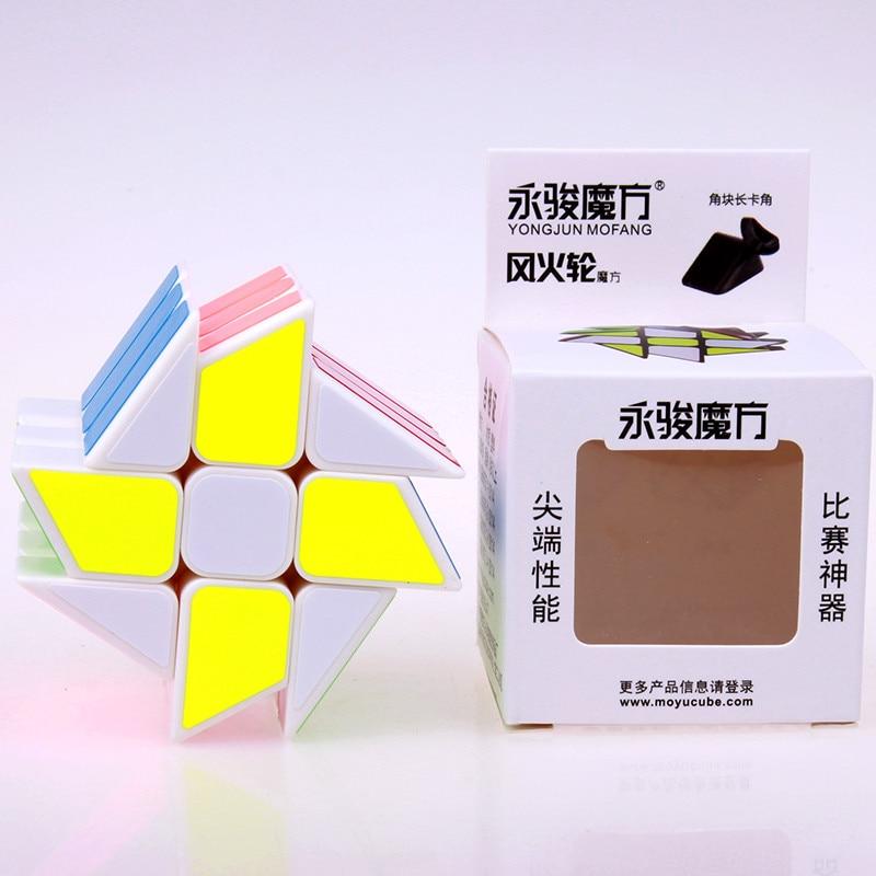 Izvorni YJ vjetar kotača kocka magija brzina puzzle kocka ABS - Igre i zagonetke - Foto 5