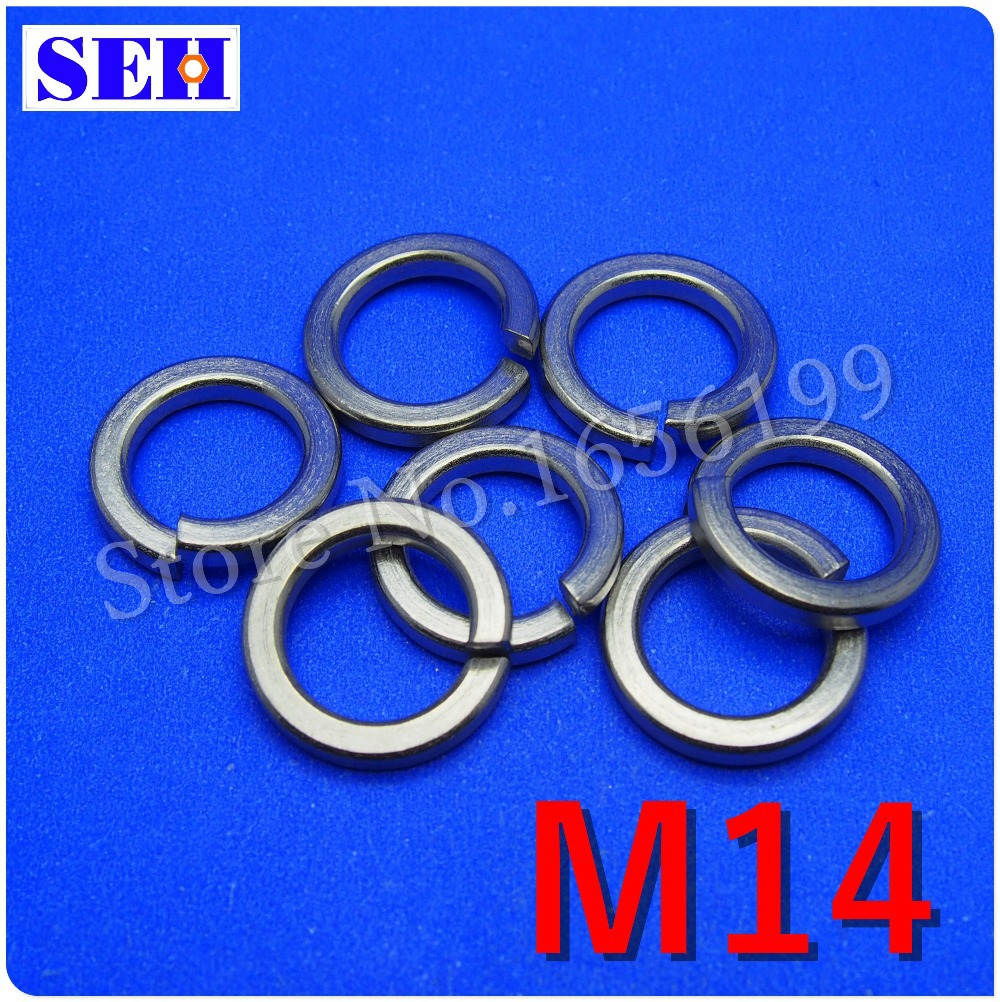 2000pcs M2.5 304 Stainless Steel Spring Washers Split Lock Washers