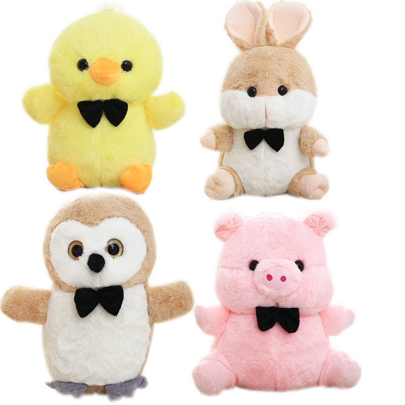 US $7.68 |Super Cute soft cartoon animals long plush brown rabbit stuffed owl and Yellow chick Baby cuddly pink pig toys for children-in Stuffed & Plush Animals from Toys & Hobbies on Aliexpress.com | Alibaba Group