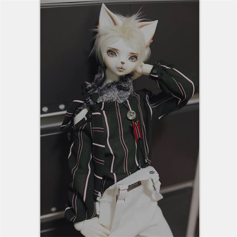 OUNEEIFS Oskar Creature Claw Dearmine 1/4 bjd sd resin figures body model man dolls eyes High Quality toys cat make up creature футболка creature the bible white