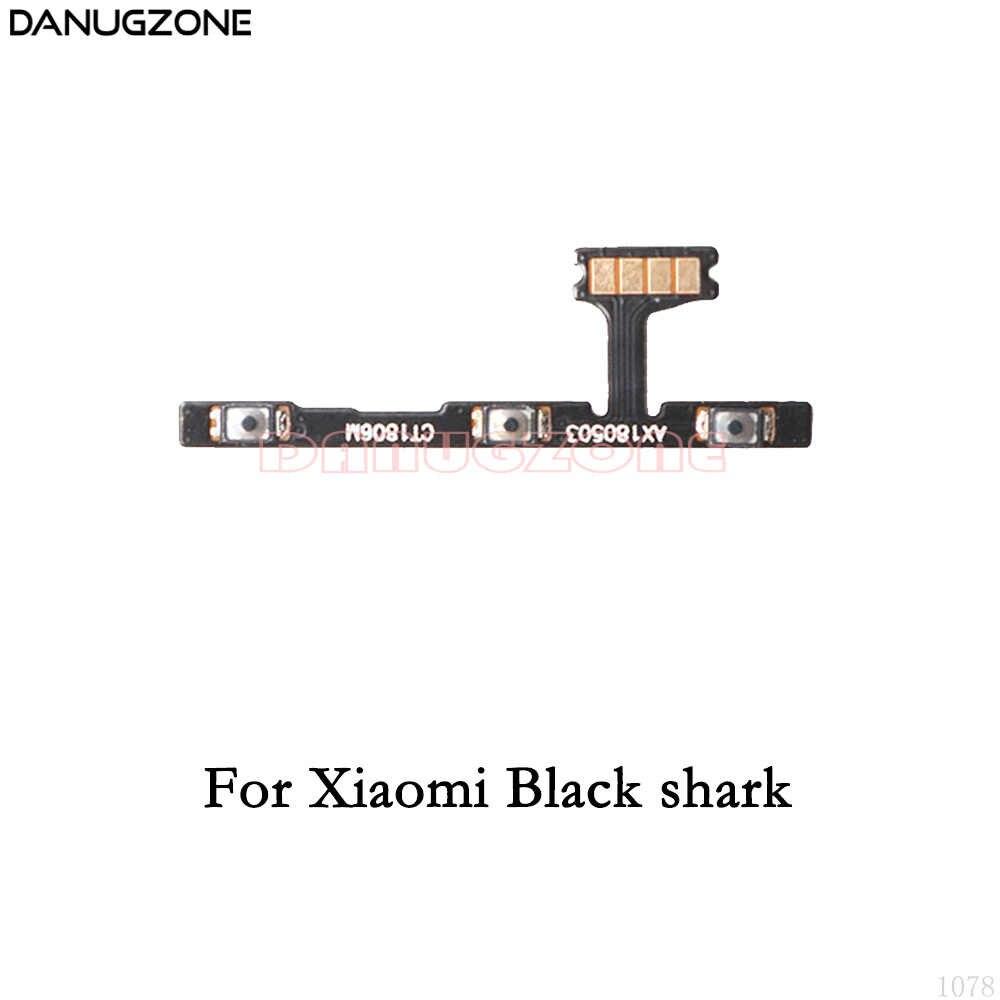 Przycisk zasilania na On/Off głośności przełącznik wyciszania przycisk Flex kabel do Xiaomi Black Shark 2th drugiej generacji
