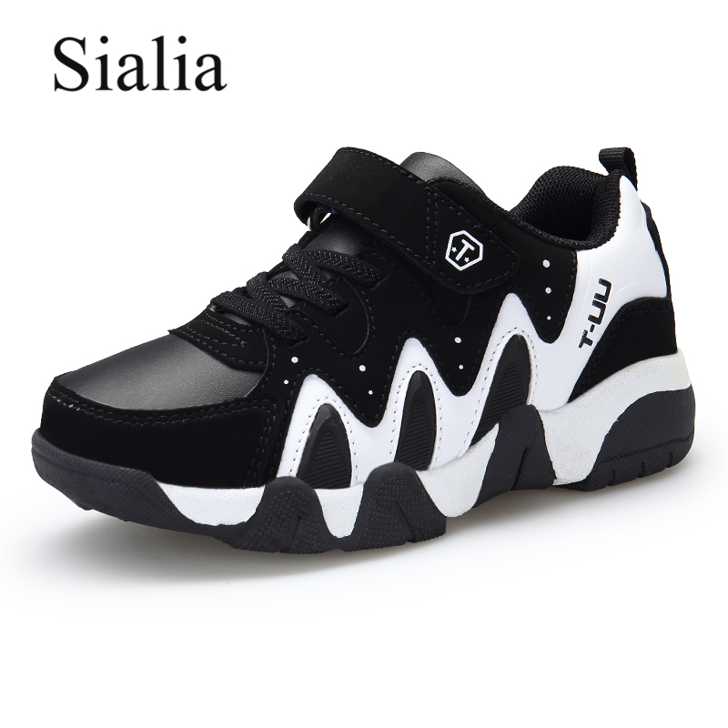 Sialia Autumn Winter Kids Sneakers For Boys Shoes Anti-slippery Outdoor School Trainer Footwear Children Shoes jongens schoenen