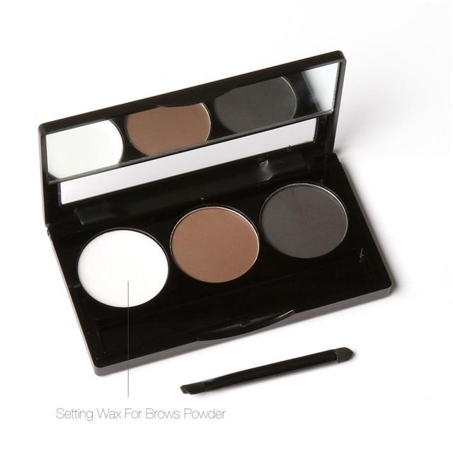 Aliexpress Buy Eye Brow Makeup Kit Set 3 Color Waterproof