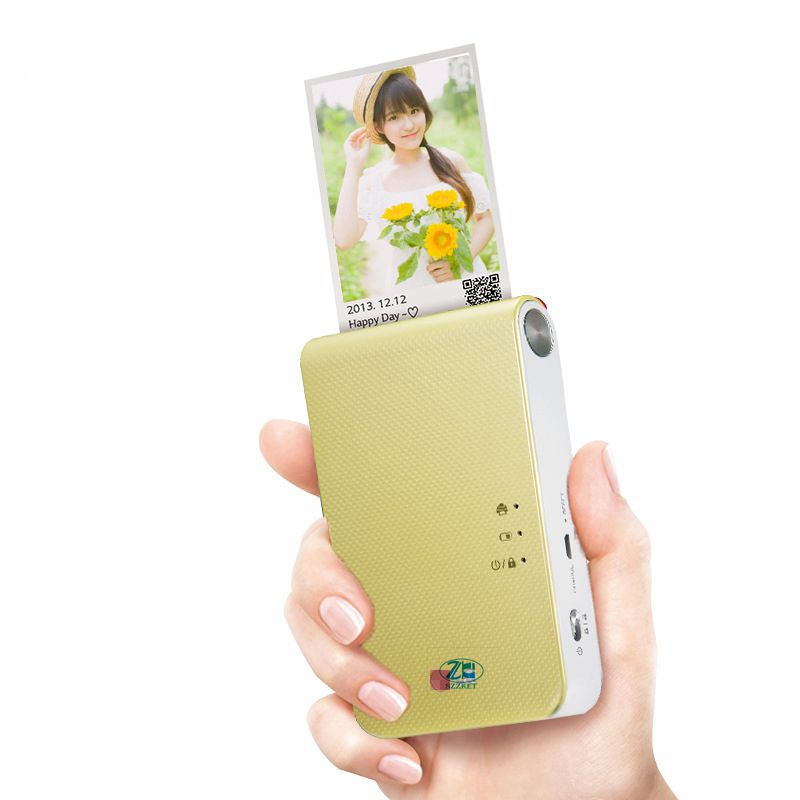 Portable photo printer PD239 PD251 PD238 mini mobile phone with bluetooth wireless camera for portable pocket printing machine image