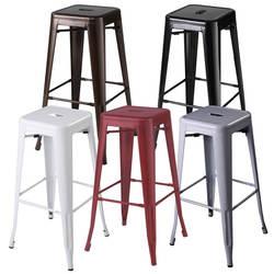 Набор из 2-х металлических Сталь барные стулья Винтаж под старину Стиль барный стул 5 цветов HW50186