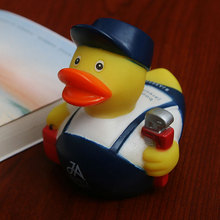 Classic floating ducks Cute Baby Water Bath Toys the Cute repairman Rubber Duck Toys Gift For children Baby collection