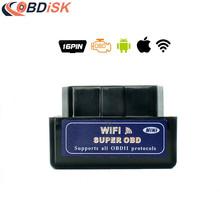 2017 Super Mini ELM327 Wifi V1.5 OBD2 Scanner Interface OBDII ELM 327 Car Diagnostic Tool Support Android & IOS