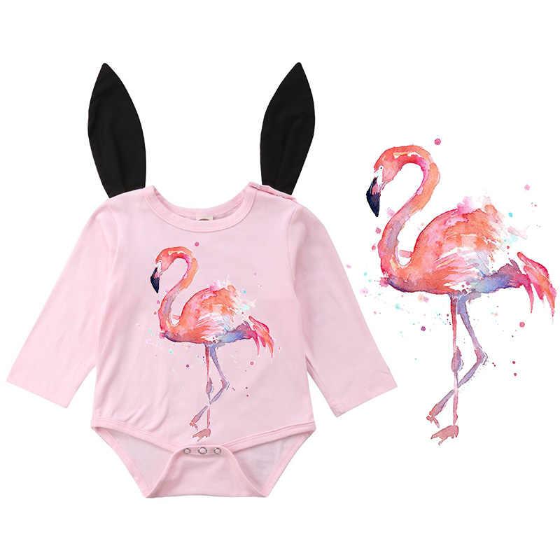 Акварельный Фламинго глажка на теплообменнике А уровень моющиеся пластыри