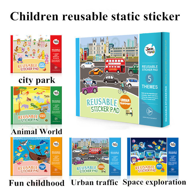 Aliexpress Com Buy New Reusable Stickers Book Game Pad Collection
