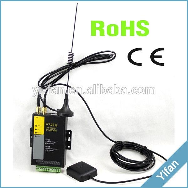 Modem GPS 3G F7414 pour la gestion de flotte PLC