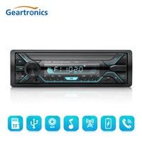 1 Din Bluetooth Car Radio MP3 Player Car Audio Stereo Bluetooth Stereo Radio 12V FM AUX Handsfree Calling In Dash Autoradio