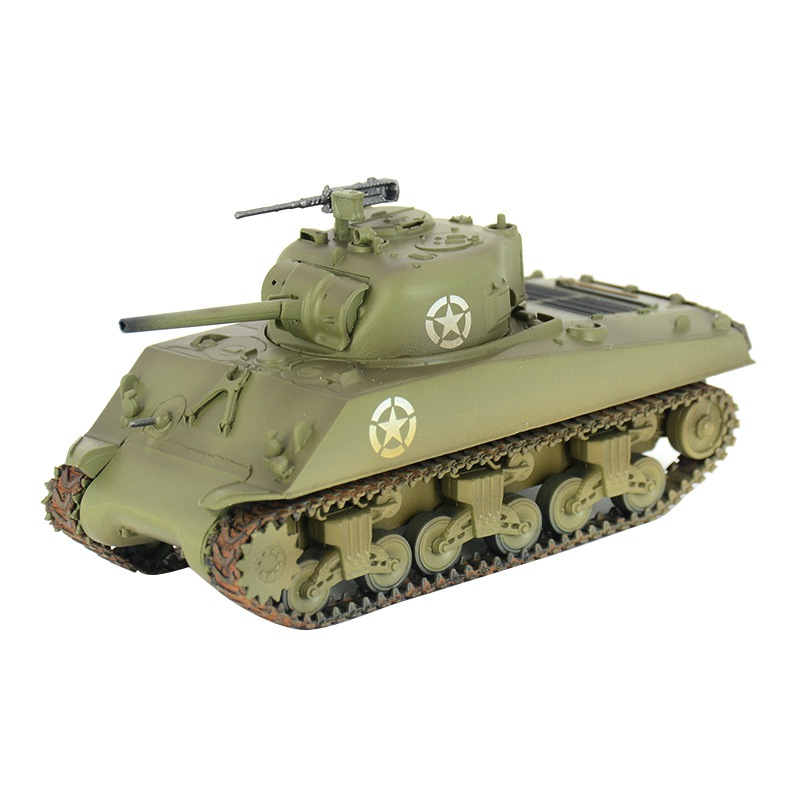 pre-built 1/72 scale M4 Sherman medium tank M4A3 World War II hobby collectible finished plastic modelpre-built 1/72 scale M4 Sherman medium tank M4A3 World War II hobby collectible finished plastic model