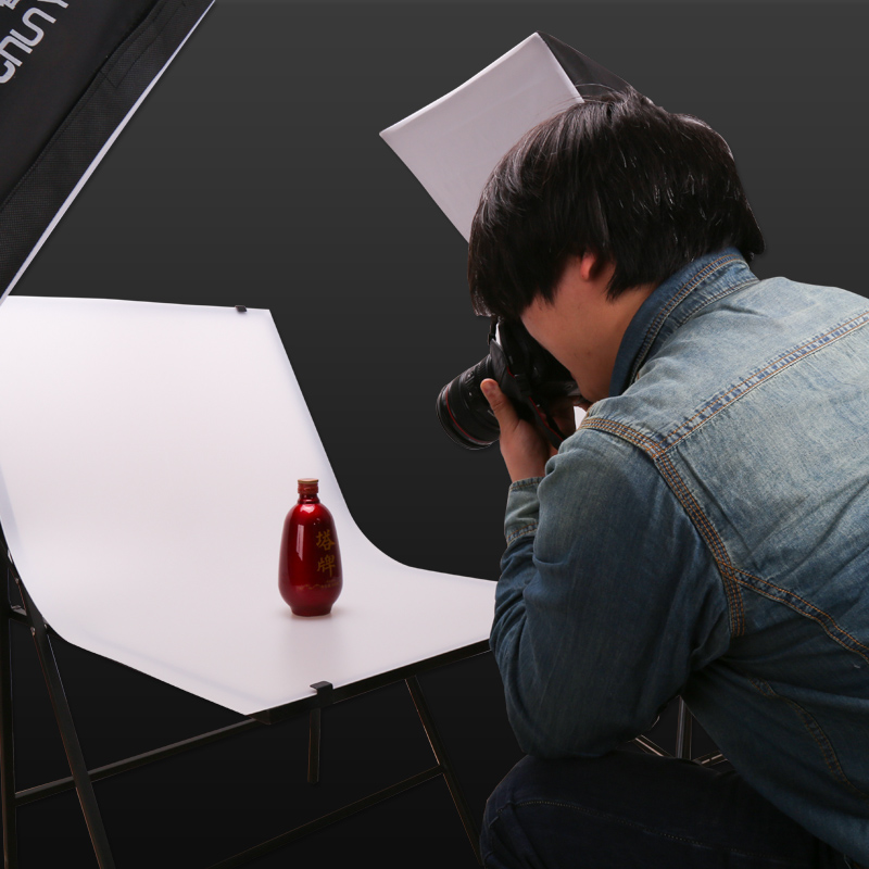 60*100 Fotoapparatuur Schieten Tafel Gratis Installatie Van Draagbare Vouwen Achtergrond Tafel Pvc Bureau Cd50 Catalogi Worden Op Verzoek Verzonden