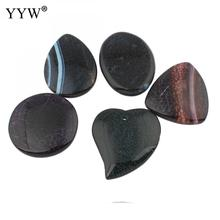 Buy fire agate pendant and get free shipping on aliexpress new 2018 hot selling fashion natural fire agates pendants charms onyx jewelry 5pcs wholesale aloadofball Images