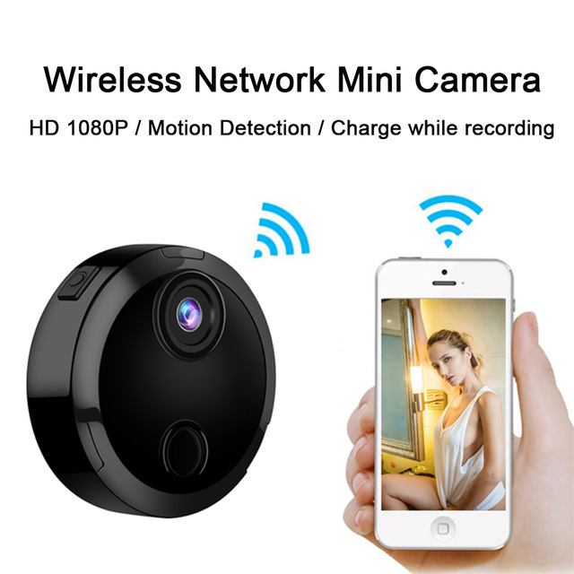 Heartbeeps HDQ15 Wifi Mini Camera HD 1080P IP Network Camcorder 12 IR Night Motion Detection Sensor Car Sports Action DV DVR