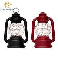 BRIGHTINWD Retro Usb2W Night Light Kerosene Lamp Creative Fire Tree Silver Flower Led Night Light Cloud Party Decorations