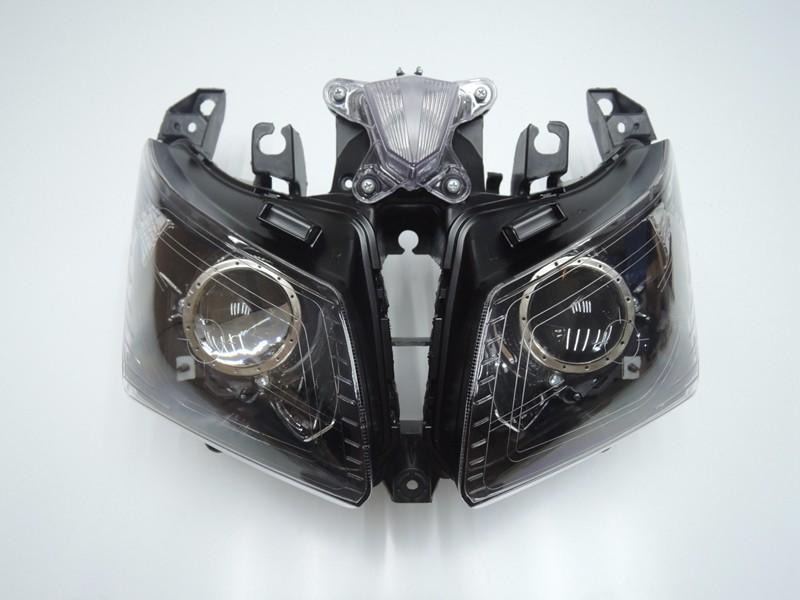 TMAX 530 2012 2013 2014 Front Headlight Head Light  Headlamp For Yamaha T-MAX530 TMAX530 2012 2013 2014 Clear (1)