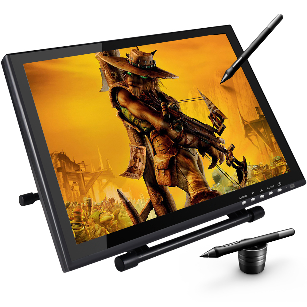 UG1910B 19 Inch Graphic Drawing Monitor Pen Display Graphic Tablet with Screen TFT-LCD Screen ugee ug2150 21 5 inch graphic drawing monitor stylus pen display graphic tablet with screen ips panel for macbook imac windows