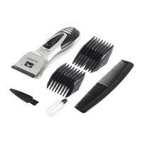 Hot Selling 1set Silver Hair Clipper Men Electric Body Groomer Hair Removal Shaver Beard Trimmer Razor