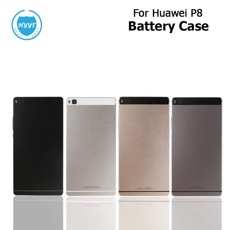 imágenes para Para Huawei P8 Caso con la Radiación de Batería de Reemplazo Película Protectora Delgada Tapa de La Batería para Huawei Ascend P8 Teléfono de Alta Calidad