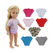 18 Inch Doll Panties-cute Accessories for My Little Baby-18American/Life/Generation Outfit-Toy clothes fit Girl Gift