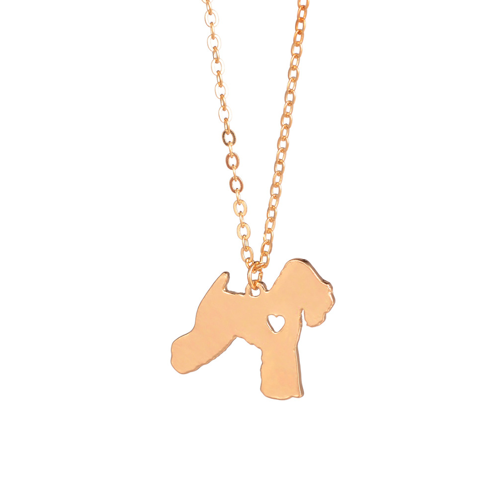 US $13 99 |Soft Wheaten Terrier Necklace Custom Dog Necklace Pet Gift  Personalized Pets Memorial Gift Rescue Christmas GIft Dogs lovers-in Choker