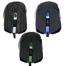 Reliable gaming mouse 6 Buttons 3200 DPI Wired Gaming Mouse LED Optical Game Mice For PC Laptop