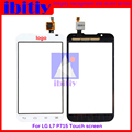 "high quality 4.3"" Touch Screen For LG Optimus L7 II 2 Dual P715 P716 Digitizer Sensor Glass Lens Panel Free Shipping"