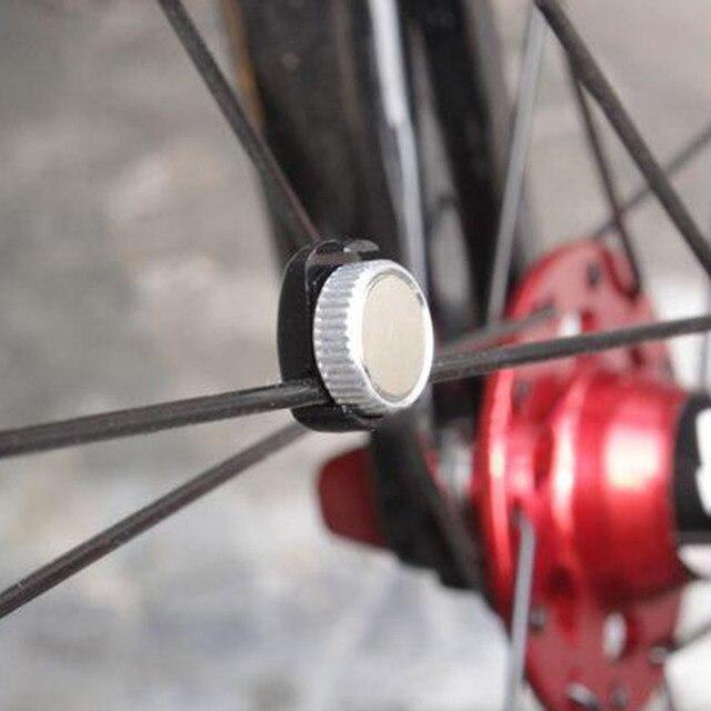 345f4d8fb Universal falou Ímã Para Bicicleta Computador de Bicicleta Velocímetro  sensor ímã ímã roda peças de bicicleta