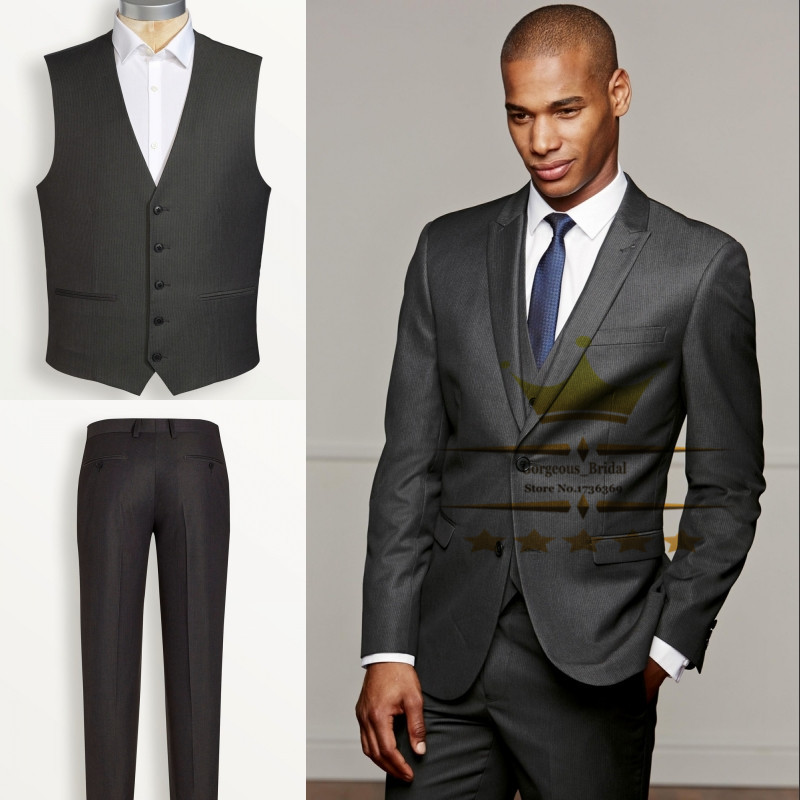 Dark Grey Suit Jacket | My Dress Tip