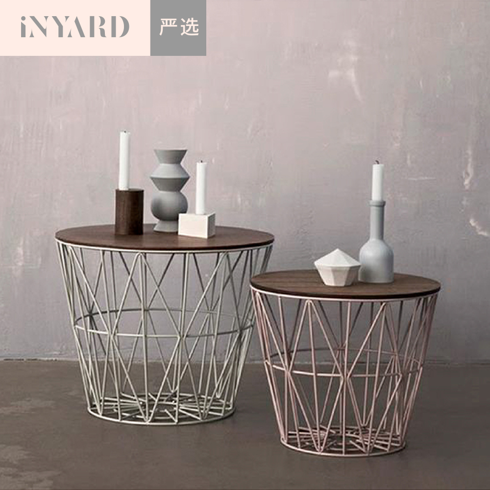 [InYard selected] Nordic 1/iron art collection basket/cashier basket/collection/clothing/books, home furnishings fci home furnishings socket 10060911 001