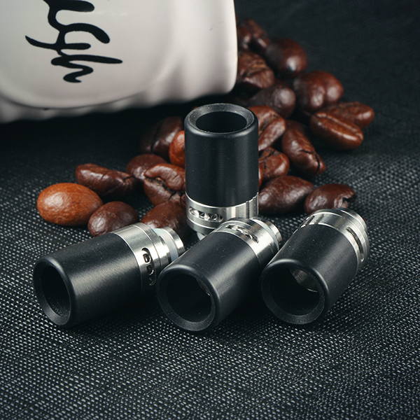 Sailing electronic cigarette 510 derlin drip tips stainless core adjustable airflow for 510 thread atomizer free shipping