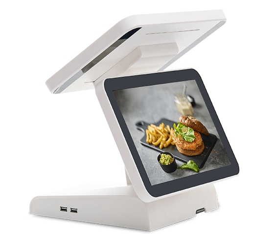 12 Inch Dual Lcd Touc Screen Android Pos Terminal Device, Android Tablet Electronic CaRD Consumer Machine Pos TERMINAL Desktops