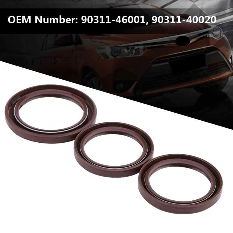 Genuine Oil Crankshaft Seal Camshaft Oil Filter Housing Seals Kit for  Toyota Lexus IS300/GS300/SC300 90311-46001, 90311-40020