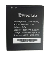 PAP4500 DUO 4500 1850mah High Quality MultiPhone Replacement Li-ion Battery Battery for Prestigio MultiPhone Battery PAP4500 DUO стоимость