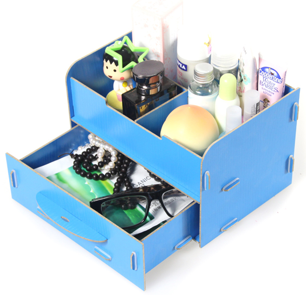 free shipping multicolor wood Drawer Small wood cosmetics