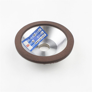 """Image 1 - 4"""" 100mm Diamond Coated Concave Cup Shaped CBN Grinding Wheel for Carbide Metal"""