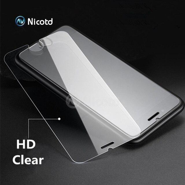 Закаленное Стекло для iPhone 6 6S Экран протектор для iPhone 7 Plus Стекло пленка для iPhone 8 plus X SE 5 5S жесткую защиту 4 4S