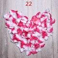 Don Nupcial 2000 unids/lote Petalas Rose Petals Decoraciones de La Boda Flores Artificiales Rosa Rosa Pétalos De Boda Petali Accessorie