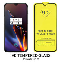 9D Full Cover Glue Tempered Glass Phone Screen Protector For Samsung J4 plus S10E A50 A10 A70