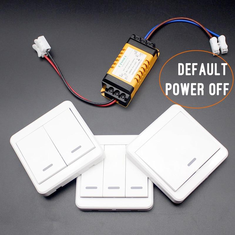 Diy Wireless Light Switch Kit No Wiring Remote Lamp
