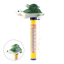 Cute Animal Floating Water Sensor Thermometer for Outdoor Indoor Swimming Pools