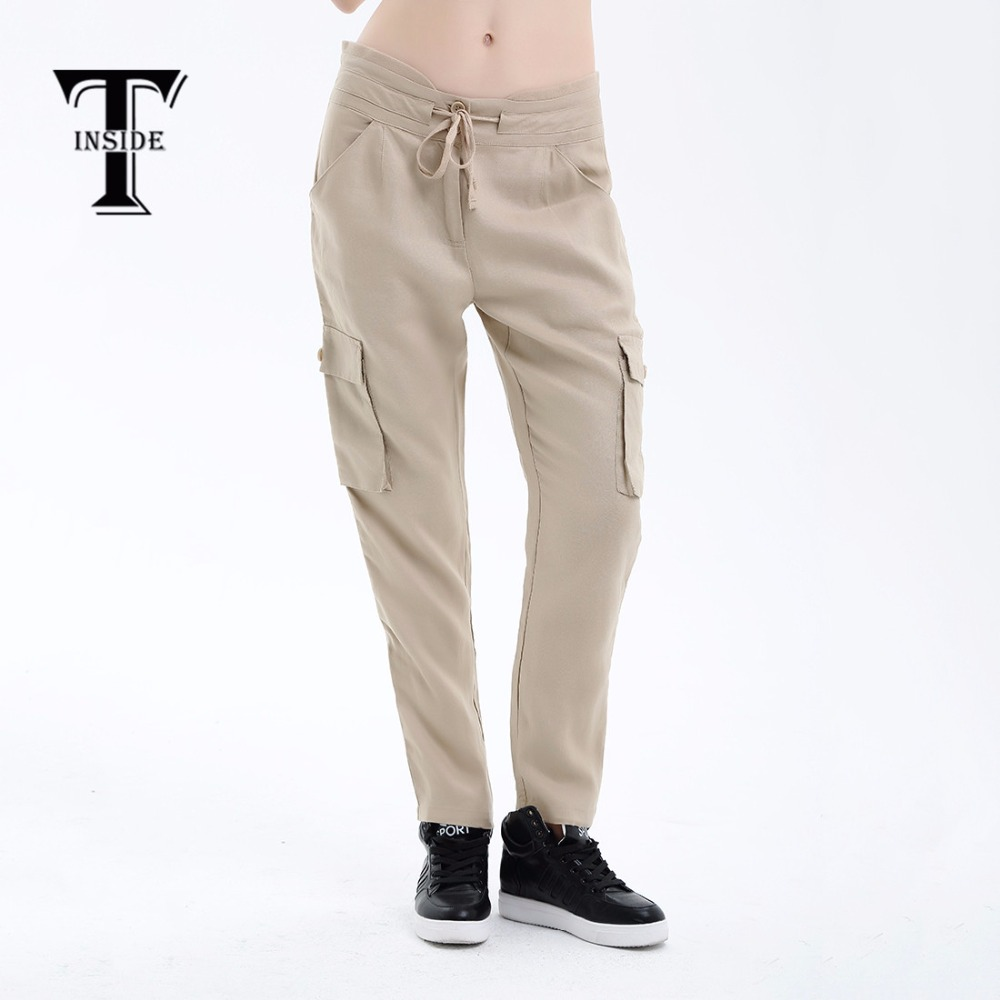 T-inside1083 2018 Summer Trousers For Women Elmer Mr Wonderful Shose Women Joggers Women Fake Designer Clothes Pants Female