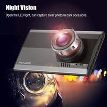 3 Дюймов LCD Ночного Видения Ультра-тонкий Автомобиль Камеры Автомобильный ВИДЕОРЕГИСТРАТОР 1080 P Full HD Видео Регистратор Рекордер Motion Detection Dash Cam