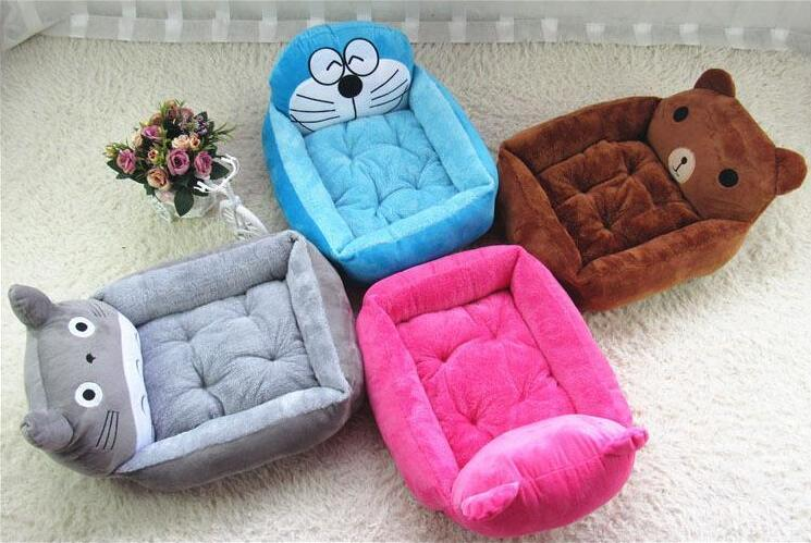 animal design fashion cartoon bear , cat pet beds, doggie sleeping bedding, cat relax cu ...