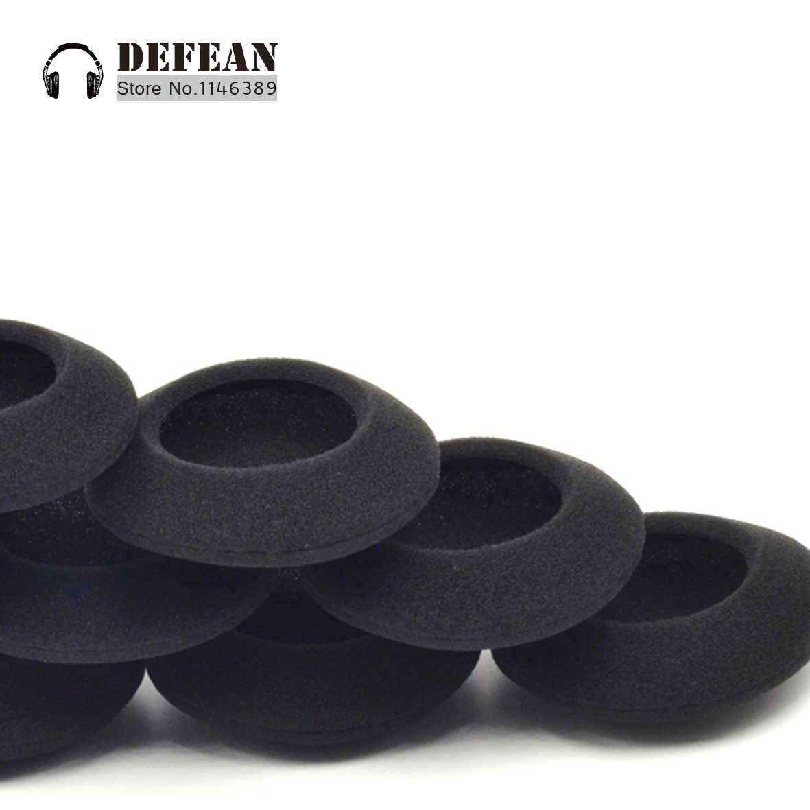 685b7a4e6b2 10pcs foam cushion ear pads for Plantronics Audio 310 470 478 628 626  headphoneFree shipping alistore