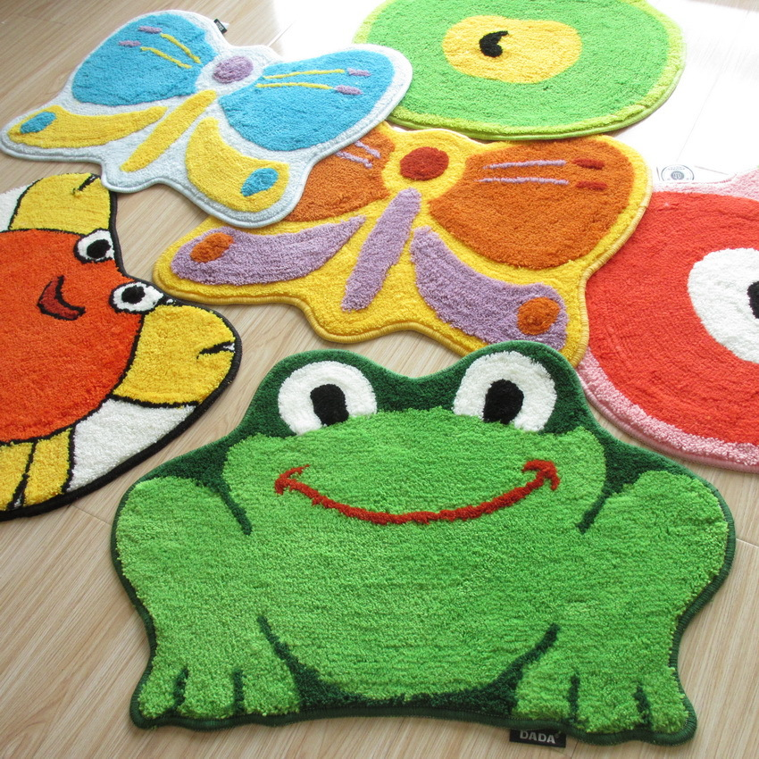 Nicerug Fahion Home Animal Design Slip Resistant Door Mat Cute Child Cartoon Shaped Soft Area Rugs For Kitchen Bathroom In Carpet From Garden On