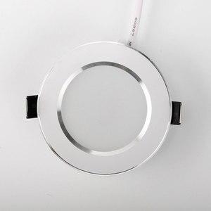 Image 4 - 10 個の led ダウンライト 220 v 240 v 3 ワット 5 ワット 7 ワット 9 ワット 12 ワット 15 ワット led シーリングラウンド凹型ランプ led スポットライト浴室キッチン